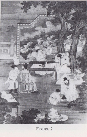 Anon. Ming artist. Scholars Gatherd in a Pavilion. Nelson-Atkins Art Museum
